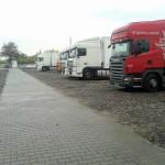 Parking tir Pruszkow